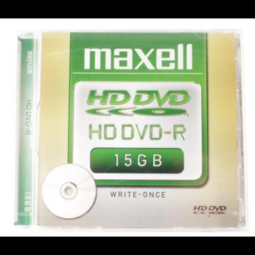 MAXELL DVD-R HD 15 GB lemez, normál tokban