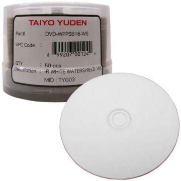 JVC DVD-R 16X Nyomtatható Lemez, Taiyo Yuden (50)