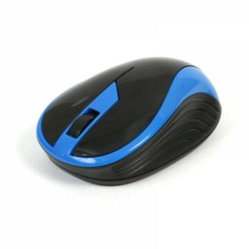 Omega OM-415 Vezeték Nélküli Egér 2,4Ghz 1000Dpi Fekete/Kék
