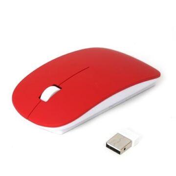 Omega OM-414 Vezeték Nélküli Egér 2,4Ghz 1000Dpi Piros 42597