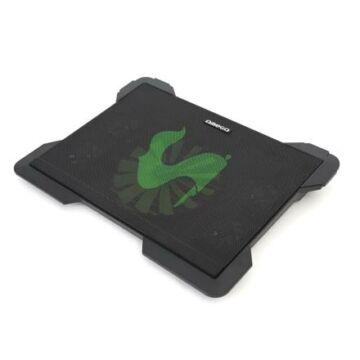Omega Laptop Hűtőpad Cyclone 5 Fans 2 USB Ports Fekete 42182