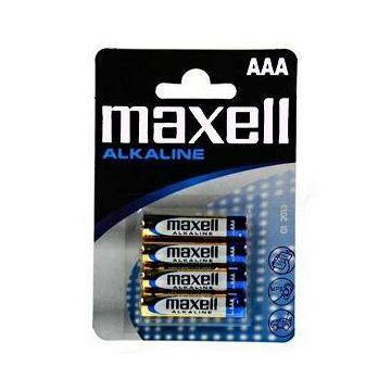 Maxell AAA Méretű 1,5V Alkaline Ceruza Elem (4 Blister)