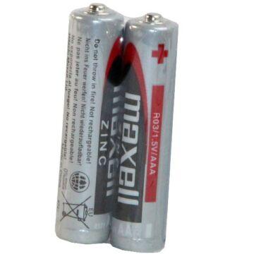 Maxell AAA Méretű 1,5V Cink Ceruza Elem (2 Shrink)