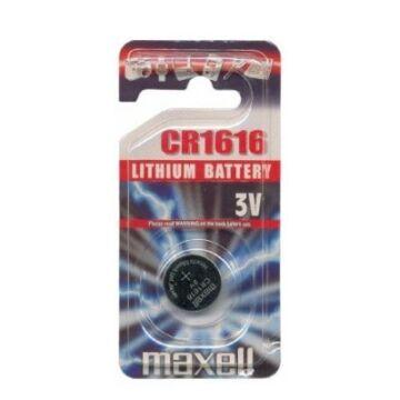 Maxell Lítium Gombelem CR1616