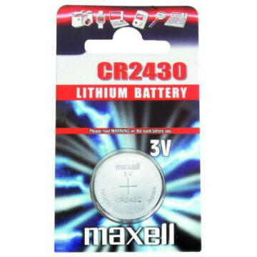 Maxell Lítium Gombelem CR2430