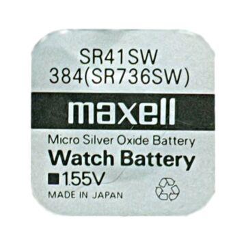 Maxell Ezüst-Oxid Gombelem Sr41Sw