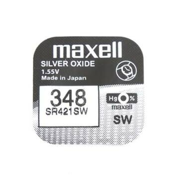 Maxell Ezüst-Oxid Gombelem Sr421Sw