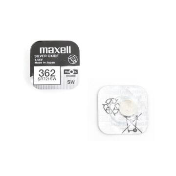 Maxell Ezüst-Oxid Gombelem Sr721Sw