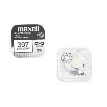 Maxell Ezüst-Oxid Gombelem Sr726Sw
