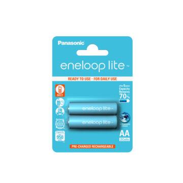 Panasonic Eneloop Lite Akku. AA Ni-Mh 950 mAh (2 Blister)