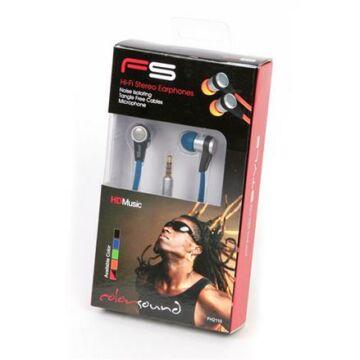 Freestyle Headset Zajszűrővel Fh2110 Sötétkék Flat Cable 41678