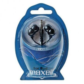 Maxell Plugz Ear Bud Fekete