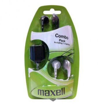 Maxell Ear Bud Combo Pack Ebc-2