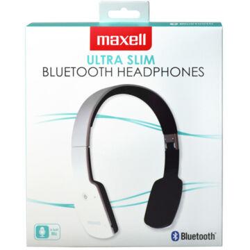 Maxell Mxh-Bt1000 Fehér Vezeték Nélküli Bluetooth Mikrofonos Fejhallgató