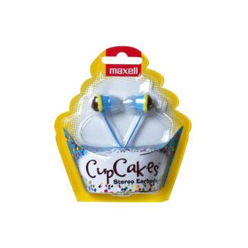 Maxell Cupcakes Fülhallgató Kék