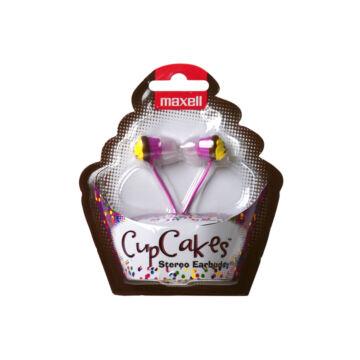 Maxell Cupcakes Fülhallgató Pink
