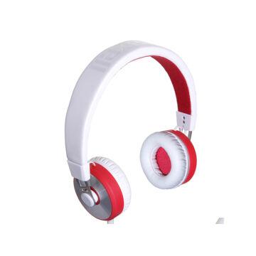 Maxell Fejhallgató Mxh-Hp650 Fehér-Piros