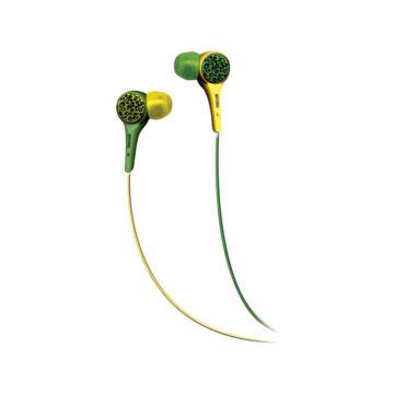 Maxell Audio Wild Fülhallgató Zöld-Sárga
