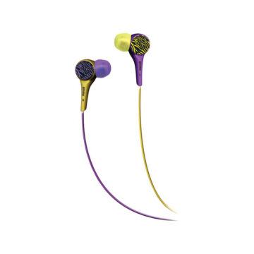 Maxell Audio Wild Fülhallgató Lila-Sárga