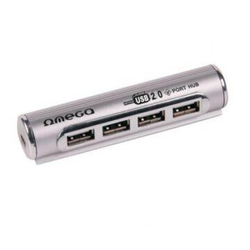 Omega Ouh24Pi USB Elosztó 4Portos