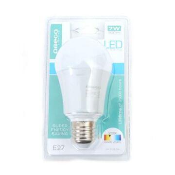 OMEGA LED izzó Aluminium 2700K E27 7W 500lm 41573
