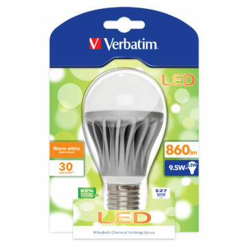 Verbatim Led E27 9,5W 860Lm (63W) /Zslve0826