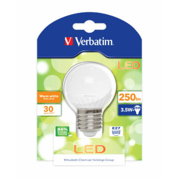 Verbatim Led E27 3,8W 250Lm (25W) Globe Mini /Zslve0830