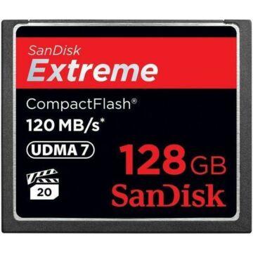 SanDisk Extreme 128 GB CompactFlash memóriakártya