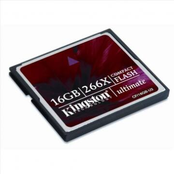 16GB CompactFlash Card Kingston 266x
