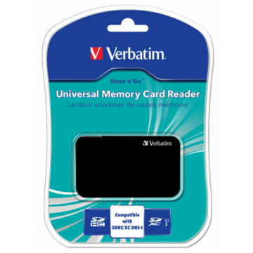 Verbatim USB 2.0 Univerzális Memóriakártya Olvasó