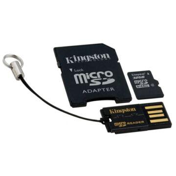 32GB Mobility Kit Kingston (microSD+adapter+olvaso)