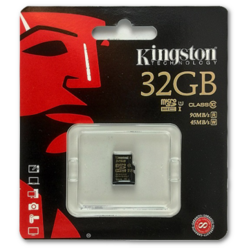 32GB Micro SDHC Kingston UHS-I class 10 R90, W45
