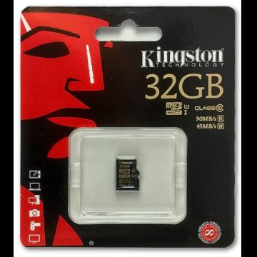 32GB Micro SDHC Kingston UHS-I class 10 R90, W45