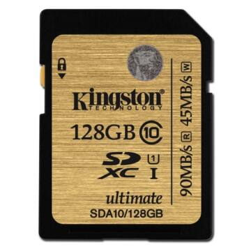 128 GB Secure Digital SDXC Kingston - Ultimate UHS-I class 10