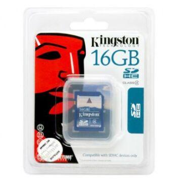 16GB Secure Digital SDHC Kingston - class 4