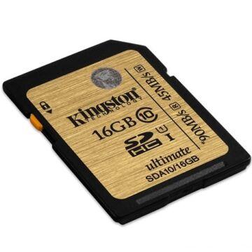 16 GB SDHC memóriakártya Kingston Secure Digital Ultimate UHS-I Class 10