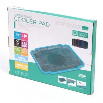 Omega Omncpib Notebook Hűtőpad Ice Box Kék