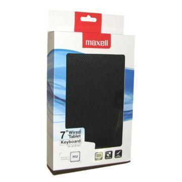 Maxell Tablet Védőtok 7 Coll Méretű Magyar Ékezetes Billentyűkkel Fekete