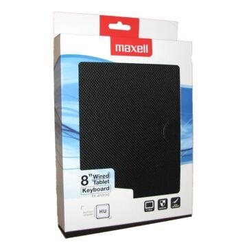Maxell Tablet Védőtok 8 Coll Méretű Magyar Ékezetes Billentyűkkel Fekete