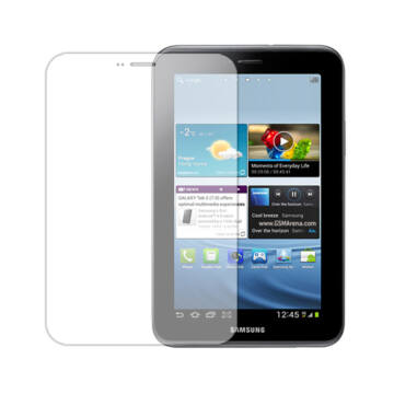 Gyári Minőségű Védőfólia 1 Oldalas Samsung P5100-P5110 Galaxy Tab2 10.1