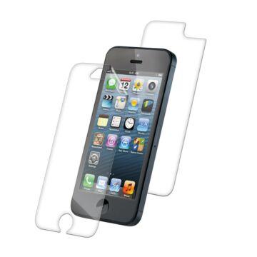 Gyári minőségű védőfólia 2 oldalas iPhone 5 matt