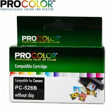 Procolor Canon PC- 526 B  NO CHIP utángyártott tintapatron