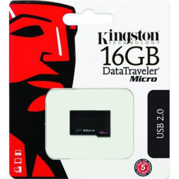 16 GB pendrive Kingston USB 2.0 DataTraveler Micro