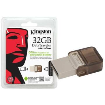 32 GB mini Android pendrive - Kingston USB 2.0 DataTraveler MicroDuo OTG