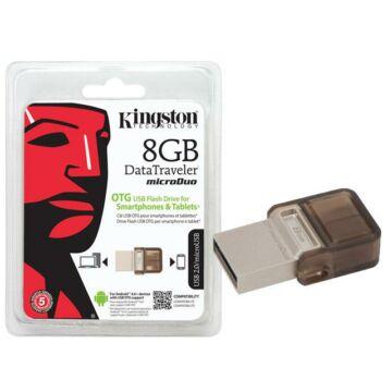 8 GB pendrive Kingston USB 2.0 DataTraveler MicroDuo OTG