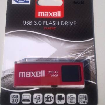 MAXELL PENDRIVE USB 3.0 16GB E-series (B)