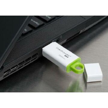 128 GB pendrive USB 3.0 Kingston  DataTraveler G4 zöld