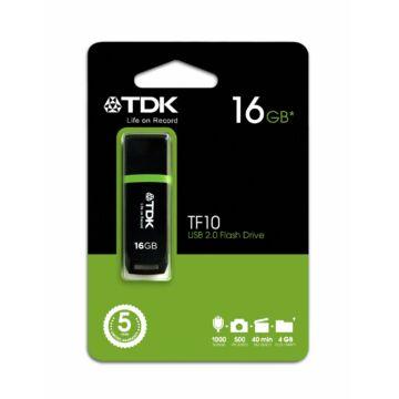 16 GB pendrive pendrive TDK USB Flash 2.0 TF10 fekete