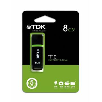 8 GB pendrive pendrive TDK USB Flash 2.0 TF10 fekete