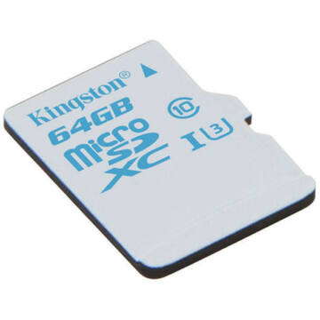 64GB microSDXC Kingston U3 90R/45W  ACTION CARD